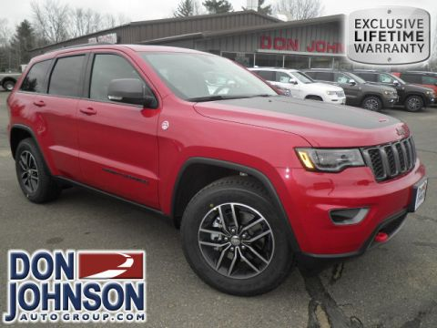 New 2017 Jeep Grand Cherokee Trailhawk 4WD