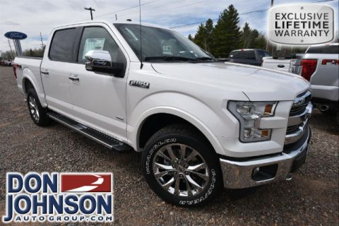 New 2017 Ford F-150 Lariat 4WD