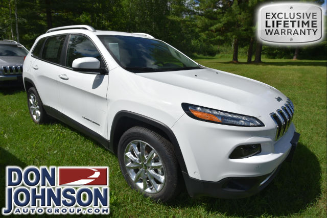 New 2017 Jeep Cherokee Limited Four Wheel Drive SUV