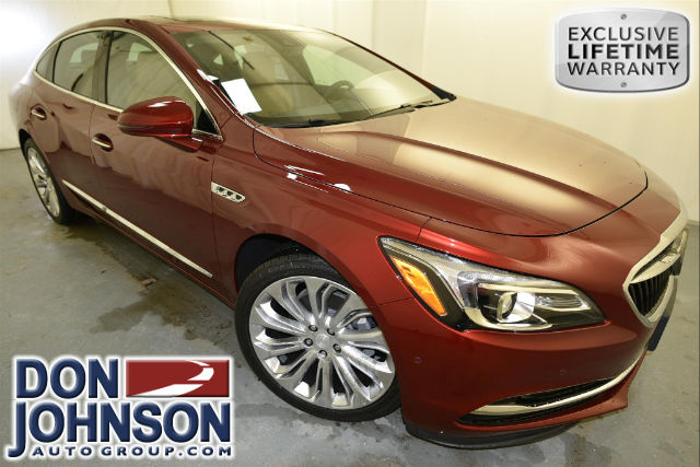 New 2017 Buick Lacrosse Premium Sedan In Rice Lake R17239
