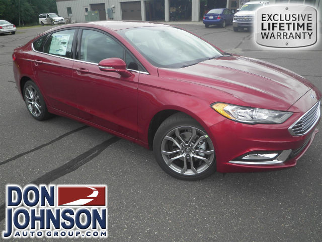 New 2017 Ford Fusion SE AWD